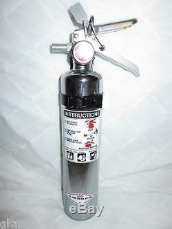 2 1/2 lb. CHROME ABC FIRE EXTINGUISHER NEW (2019) CERTIFIED NEW (AMEREX)