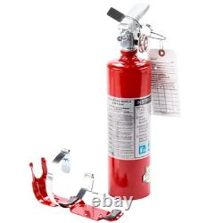 2.5 lbs. Fire Extinguisher ABC Dry Chemical Rechargeable DOT Vehicle Bracket UL