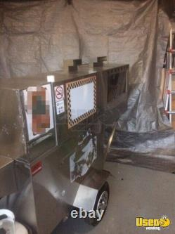 2' x 7' Hot Dog / Food Vending Cart for Sale in Ontario