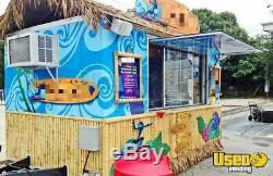2014 8.5' x 14' Hawaiian Shave Ice Concession Trailer for Sale in Ohio- NICE