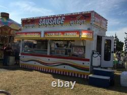 2015 8' x 18' Rapsure Custom Food Concession Trailer for Sale in New York