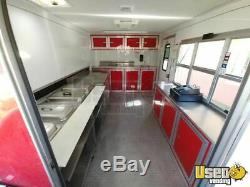 2015 CBTL CW8 8.5' x 28' Barbecue Food Concession Trailer with Porch for Sale