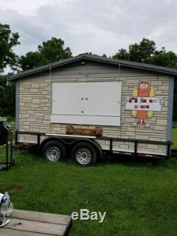 2016 6' x 12' Barbecue Concession Trailer/Mobile Barbeque Unit Working Great for