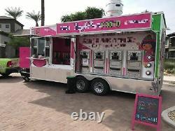2017 28' Mobile Frozen Yogurt Shop / Soft Serve Concession Trailer for Sale in