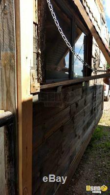 2017 8' x 17' Catering Concession Trailer with Porch for Sale in Wisconsin