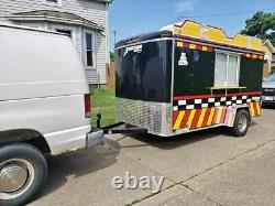 2018 6' x 12' Homesteader Inc Mobile Kitchen Food Concession Trailer for Sale in