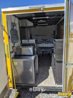 2018 Lark 6' x 12' Used Street Food Concession Trailer for Sale in New Mexico