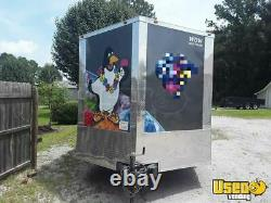 2019 Wow Cargo 8.5' x 14' Sno Biz Snowball Concession Trailer for Sale in South