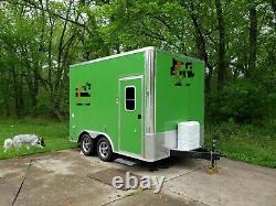 2020 United Trailers 8.5' x 12' Coffee and Mini Donuts Bakery Trailer for Sale i