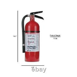 3 Pack Dry Chemical Fire Extinguisher 4 Lb. Rechargeable Home Office Safety New