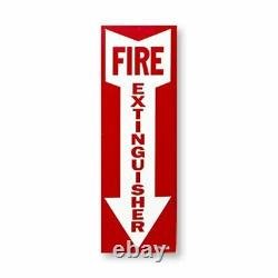 4 20lb. Buckeye ABC Fire Extinguisher with Wall Hook, Sign and Inspection Tag