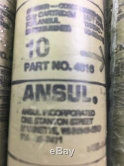 4 Ansul Fire Extinguisher 10# CO2 Cartridge #4616 COMPRESSED GAS