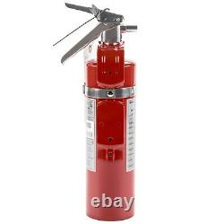 4 Pcs 2.5 Lb Fire Extinguisher ABC Dry Chemical Rechargeable DOT Vehicle Bracket