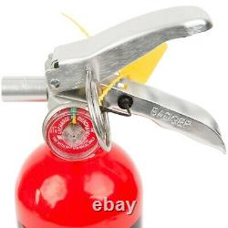 4X 2.5 Lb Fire Extinguisher ABC Dry Chemical Rechargeable DOT Vehicle Bracket UL