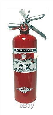 5lb Halotron Amerex Fire Extinguisher B386t Brand New