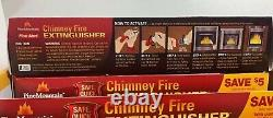 (6)pine Mountain First Alert Chimney Fire Extinguisher Put Out Fireplace Stove