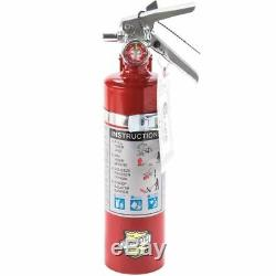 8X 2.5 Lb Fire Extinguisher ABC Dry Chemical Rechargeable DOT Vehicle Bracket UL