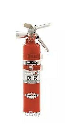 AMEREX B385TS Fire Extinguisher, 2BC, Halotron, 2-1/2 lb