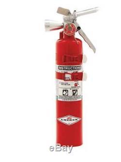 AMEREX B385TS Fire Extinguisher, 2BC, Halotron, 2-1/2 lb, 15-1/2H