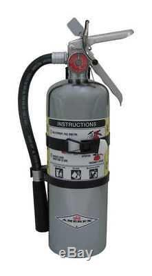 AMEREX B500TC Fire Extinguisher, 2A10BC, Dry Chemical, 5 lb, 15-1/4H