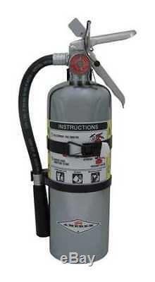 AMEREX B500TC Fire Extinguisher, 2A10BC, Dry Chemical, 5 lb, 15-1/4H