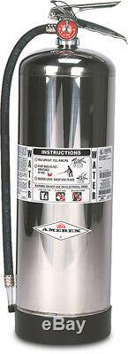 AMEREX Water Stored Pressure Fire Extinguisher Model 240/2-1/2 gal. /Hose