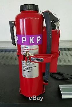 ANSUL Red Line Hand Portable Fire Extinguisher MIL-RP-K-20-E 20lb Purple K PKP