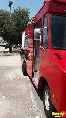 All Stainless Steel Chevrolet Step Van Food Truck / Rarely Used Mobile Kitchen f