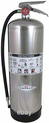 Amerex 2.5 Gallon Water Class A Fire Extinguisher BRAND NEW FREE SHIPPING