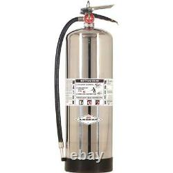 Amerex 240 2.5 Gallon Water Class A Fire Extinguisher with Wall Bracket