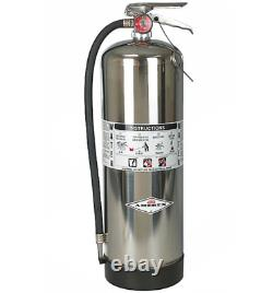 Amerex 240 Stored Pressure Water Class A Fire Extinguisher 2.5 Galon