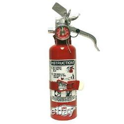 Amerex A384T 1.4 Pound Halotron I Class BC Fire Extinguisher with Vehicle Bracket