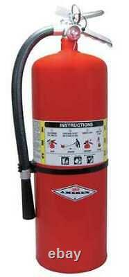 Amerex A411 Fire Extinguisher, 10A120BC, Dry Chemical, 20 Lb