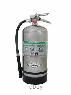 Amerex B260, 6 Liter Wet Chemical Class A K Fire Extinguisher