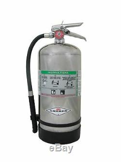 Amerex B260, 6 Liter Wet Chemical Class A K Fire Extinguisher, Ideal For KI