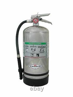 Amerex B260, 6 Liter Wet Chemical Class A K Fire Extinguisher, Ideal For KITCHE