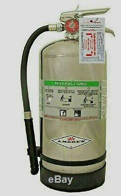 Amerex B260, Class K Wet Chemical Fire Extinguisher, Certified Tagged, New 2019