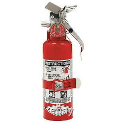Amerex B386t Fire Extinguisher, 5BC, Halotron, 5 Lb
