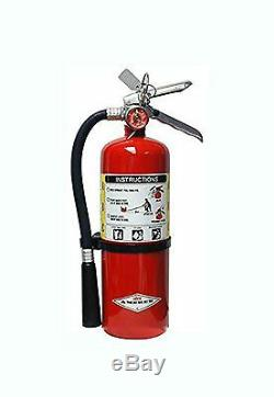 Amerex B441, 10lb ABC Dry Chemical Class A B C Fire Extinguisher