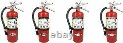 Amerex B500, 5lb ABC Dry Chemical Class A B C Fire Extinguisher (4)