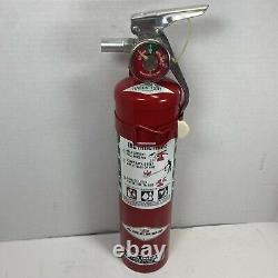 Amerex Fire Extinguisher 2.5Lb HALON 1211 Halon Fire Extinguisher