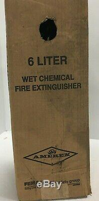 Amerex Fire Extinguisher 6-Liter Wet Chemical Kitchen Model B260
