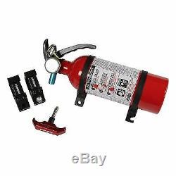 Assault Fire Extinguisher Mount Kit/ 1.75 Inch Black/Red 101005FE01212