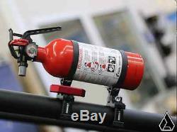 Assault Industries UTV Quick Release Billet Fire Extinguisher Kit 2 Clamp