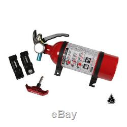 Assault Quick Release UTV Fire Extinguisher Kit with 1.75 Clamps Clamps