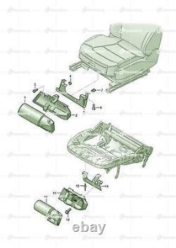 Audi A6 Av. Qu. 2.7 TDI allroad Holder For Fire Extinguisher 8E0860985 New OEM