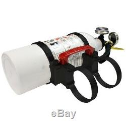 Axia Alloys Quick Release 2 lb. Fire Extinguisher with 1.75 Mount Bright Black