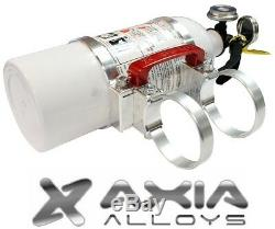 Axia Alloys Quick Release 2 lb. Fire Extinguisher with 1.75 Mount Bright Clear