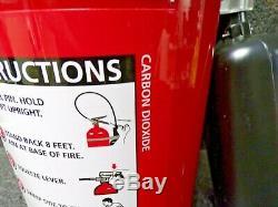 BADGER B10V Fire Extinguisher Carbon Dioxide 10lb BC