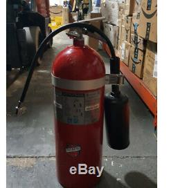 BUCKEYE 466 20 CD Fire Extinguisher, 10BC, Carbon Dioxide, 20 lb, 20H